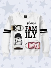 Свитшот We are family shoes