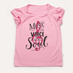 Футболка для девочки 'Music is the voice of the soul'
