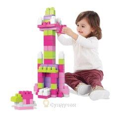 Конструктор Mega Bloks First Builders Розовый DCH54