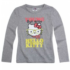 "Реглан ""Hello Kitty"", 104, Серый"